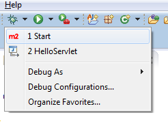 Start Debug Shortcut