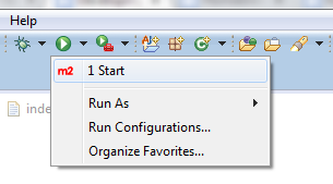 Start shortcut button automatically added