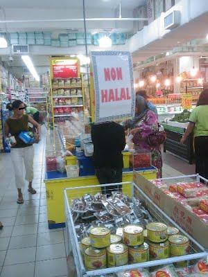 Non Halal Area