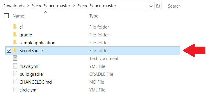 Add secretsauce as library in the project